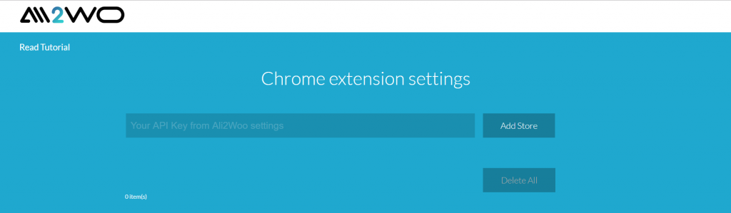 ali2woo chrome extension options