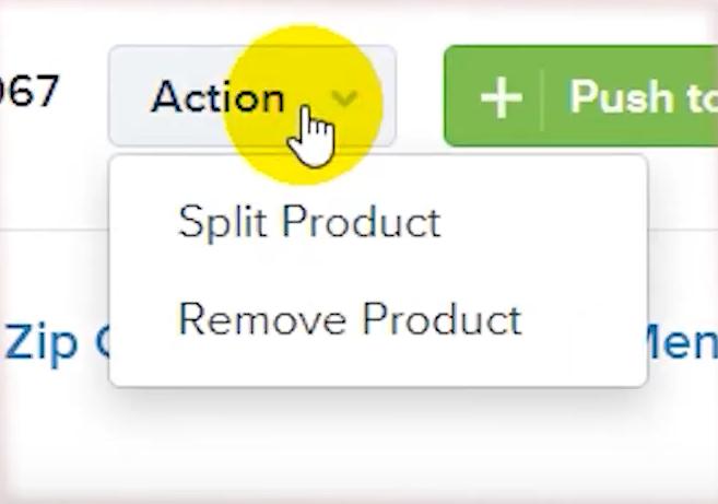 split-product-action